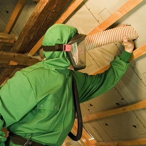 Loose wood fiber Zell walls, attics and roofs insulation