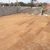 Fibertherm Base wood fiber flat roof with density 250